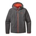 Forge Grey w/Cusco Orange - Patagonia - Men's Nano-Air Hoody
