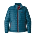 Big Sur Blue w/Fire Red - Patagonia - Men's Down Sweater