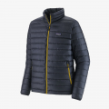 Smolder Blue w/Textile Green - Patagonia - Men's Down Sweater