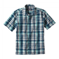 Transom: Big Sur Blue - Patagonia - Men's Puckerware Shirt