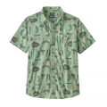 Southern Farm Basket: Gypsum Green - Patagonia - Men's Go To Shirt