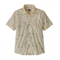 Micro Mixture: White Wash - Patagonia - Men's Go To Shirt