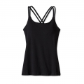 Black - Patagonia - Women's Cross Back Tank