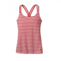Vista Stripe: Shock Pink - Patagonia - Women's Cross Back Tank