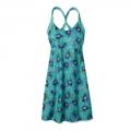Seaflower: Howling Turquoise - Patagonia - Women's Morning Glory Dress