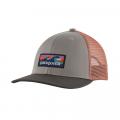 Boardshort Logo: Drifter Grey - Patagonia - Kid's Trucker Hat
