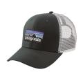 Carbon - Patagonia - P-6 Logo Trucker Hat
