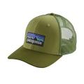 Crag Green - Patagonia - P-6 Logo Trucker Hat