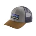 Drifter Grey w/Coriander - Patagonia - P-6 Logo Trucker Hat