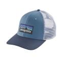 Railroad Blue - Patagonia - P-6 Logo Trucker Hat