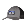 Feather Grey - Patagonia - P-6 Logo Trucker Hat