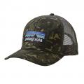 Big Camo: Fatigue Green - Patagonia - P-6 Logo Trucker Hat