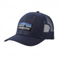 Navy Blue w/Navy Blue - Patagonia - P-6 Logo Trucker Hat