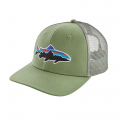 Matcha Green - Patagonia - Fitz Roy Trout Trucker Hat