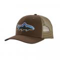Bristle Brown - Patagonia - Fitz Roy Trout Trucker Hat
