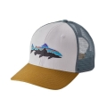 White - Patagonia - Fitz Roy Trout Trucker Hat