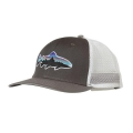 Forge Grey w/Feather Grey - Patagonia - Fitz Roy Trout Trucker Hat