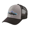 Drifter Grey w/Black - Patagonia - Fitz Roy Trout Trucker Hat