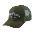 Glades Green - Patagonia - Fitz Roy Trout Trucker Hat