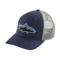 Classic Navy w/Drifter Grey - Patagonia - Fitz Roy Trout Trucker Hat