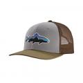 Drifter Grey w/Sage Khaki - Patagonia - Fitz Roy Trout Trucker Hat