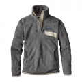 Feather Grey - Ink Black X-Dye - Patagonia - Women's Re-Tool Snap-T P/O