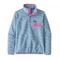 Eucalyptus Fronds: Berlin Blue - Patagonia - Women's Lightweight Synch Snap-T Pullover