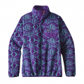 Ikat Fish Big: Purple - Patagonia - Women's LW Synch Snap-T P/O