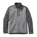 Nickel w/Forge Grey - Patagonia - Men's Better Sweater 1/4 Zip