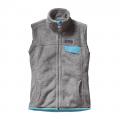Tailored Grey - Nickel X-Dye w/Cuban Blue - Patagonia - Women's Re-Tool Vest