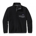 Black w/Forge Grey - Patagonia - Men's LW Synch Snap-T Pullover