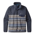 Laughing Waters: Smolder Blue w/Smolder Blue - Patagonia - Men's LW Synch Snap-T Pullover