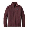 Dark Ruby - Patagonia - Women's Better Sweater 1/4 Zip