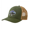 Buffalo Green - Patagonia - Fitz Roy Bison Trucker Hat