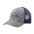Drifter Grey w/Dark Ruby - Patagonia - Fitz Roy Crest LoPro Trucker Hat