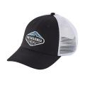 Black - Patagonia - Fitz Roy Crest LoPro Trucker Hat