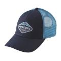 Navy Blue w/Lite Electron Blue - Patagonia - Fitz Roy Crest LoPro Trucker Hat