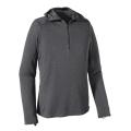 Forge Grey - Feather Grey X-Dye - Patagonia - Men's Cap TW Zip Neck Hoody