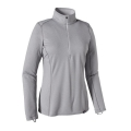 Feather Grey - Tailored Grey X-Dye - Patagonia - Women's Cap MW Zip Neck