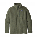 Industrial Green - Patagonia - Boys' Better Sweater 1/4 Zip