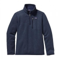 Classic Navy - Patagonia - Boys' Better Sweater 1/4 Zip