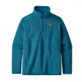 Balkan Blue - Patagonia - Boys' Better Sweater 1/4 Zip