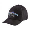 Black - Patagonia - Fitz Roy Trout Stretch Fit Hat