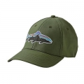 Buffalo Green - Patagonia - Fitz Roy Trout Stretch Fit Hat