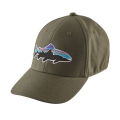 Industrial Green - Patagonia - Fitz Roy Trout Stretch Fit Hat
