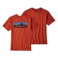 Roots Red - Patagonia - Men's P-6 Logo Cotton T-Shirt