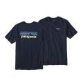 Navy Blue - Patagonia - Men's P-6 Logo Cotton T-Shirt