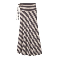 Jack Rabbit Stripe: Light Sesame - Patagonia - Women's Kamala Maxi Skirt