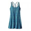 Little Bermuda: Big Sur Blue - Patagonia - Women's Latticeback Dress