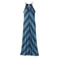 Reflection Stripe: Navy Blue - Patagonia - Women's Kamala Keyhole Dress